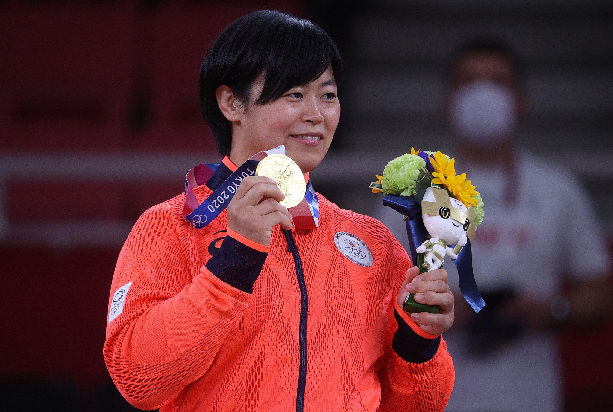 Shori Hamada, in the women's under-78kg, also won gold  ©Getty Images