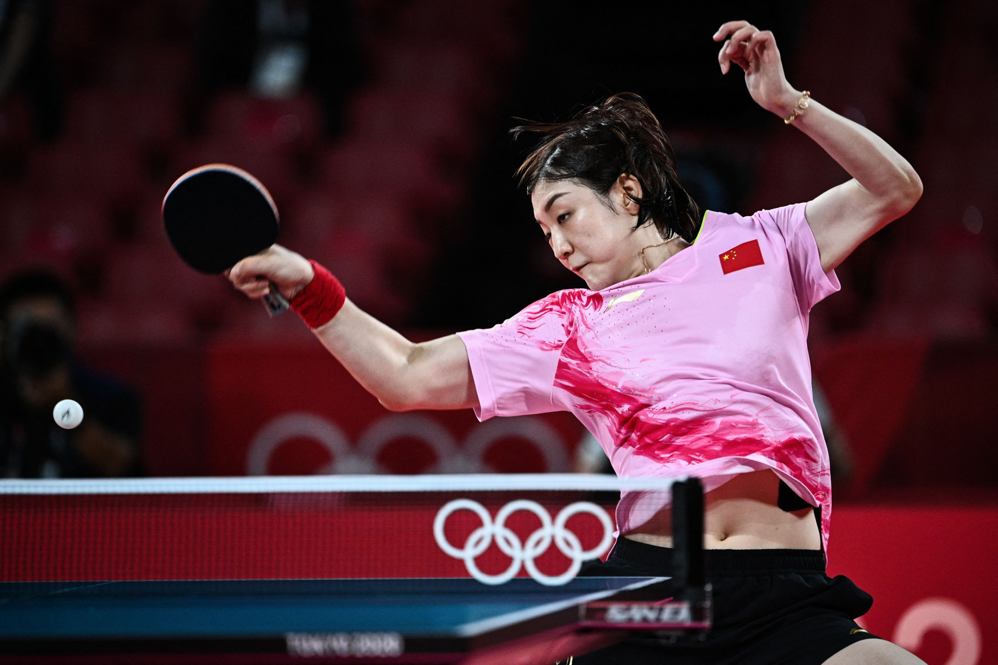 Chen Meng won an all-Chinese women's singles table tennis final, demonstrating why she is the world number one  ©Getty Images