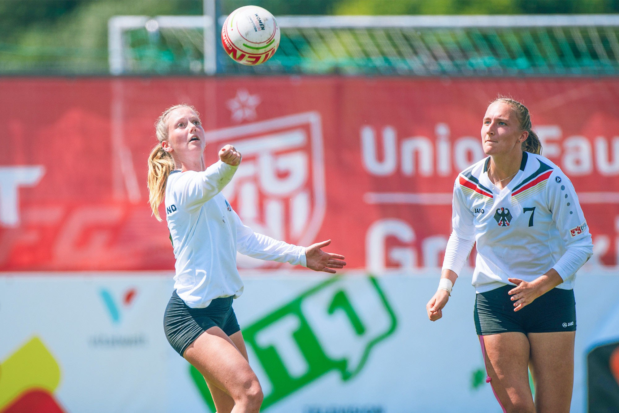 Germany are seeking a fourth Women's Fistball World Championship gold medal in a row ©IFA