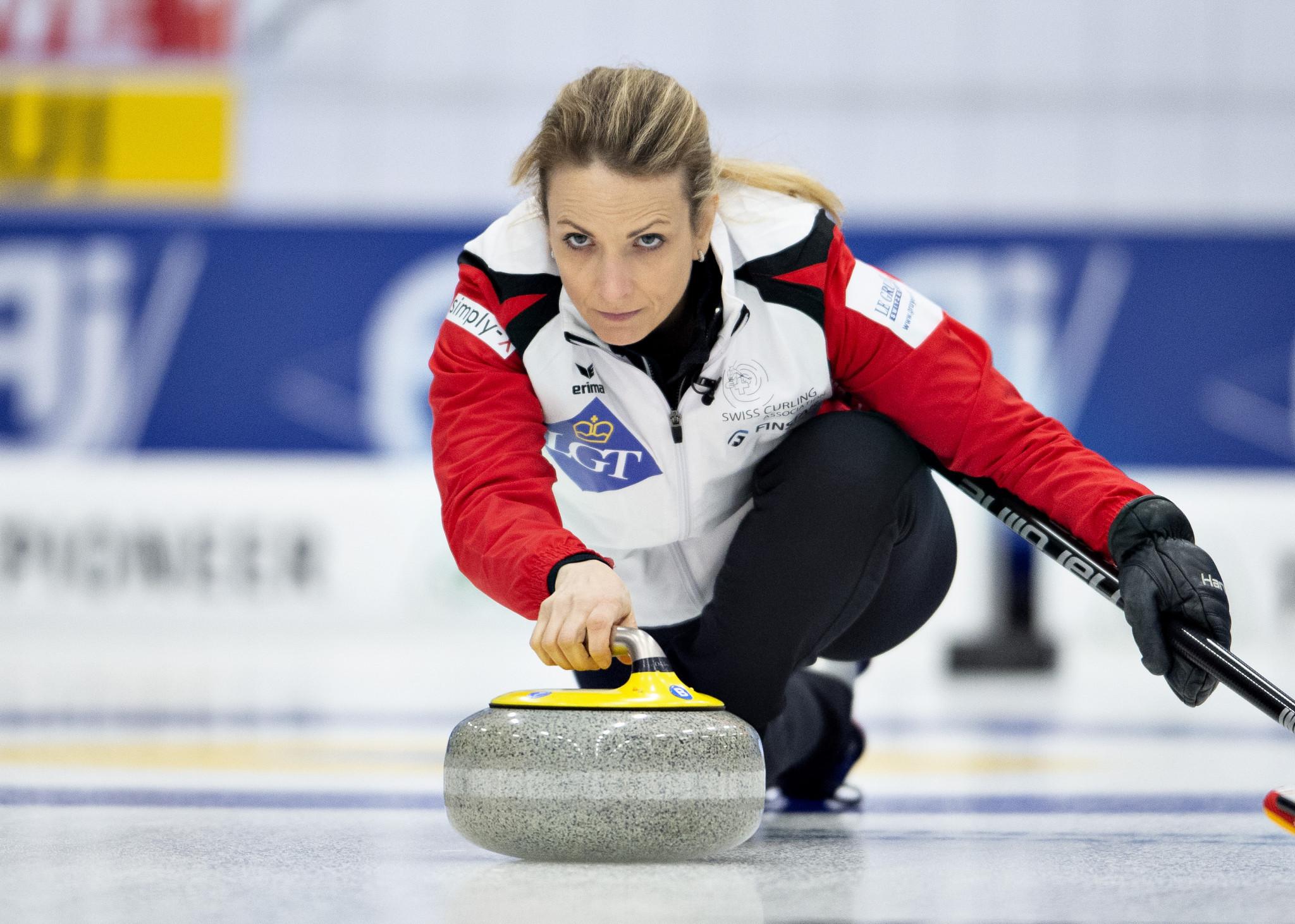 Silvana Tirinzoni Swiss team are the defending world champions ©Getty Images