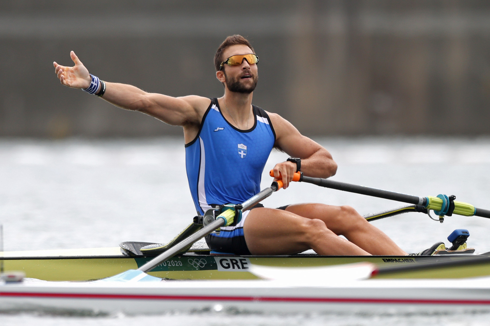 Ntouskos wins Greece's first Olympic rowing gold as Twigg ends wait for title