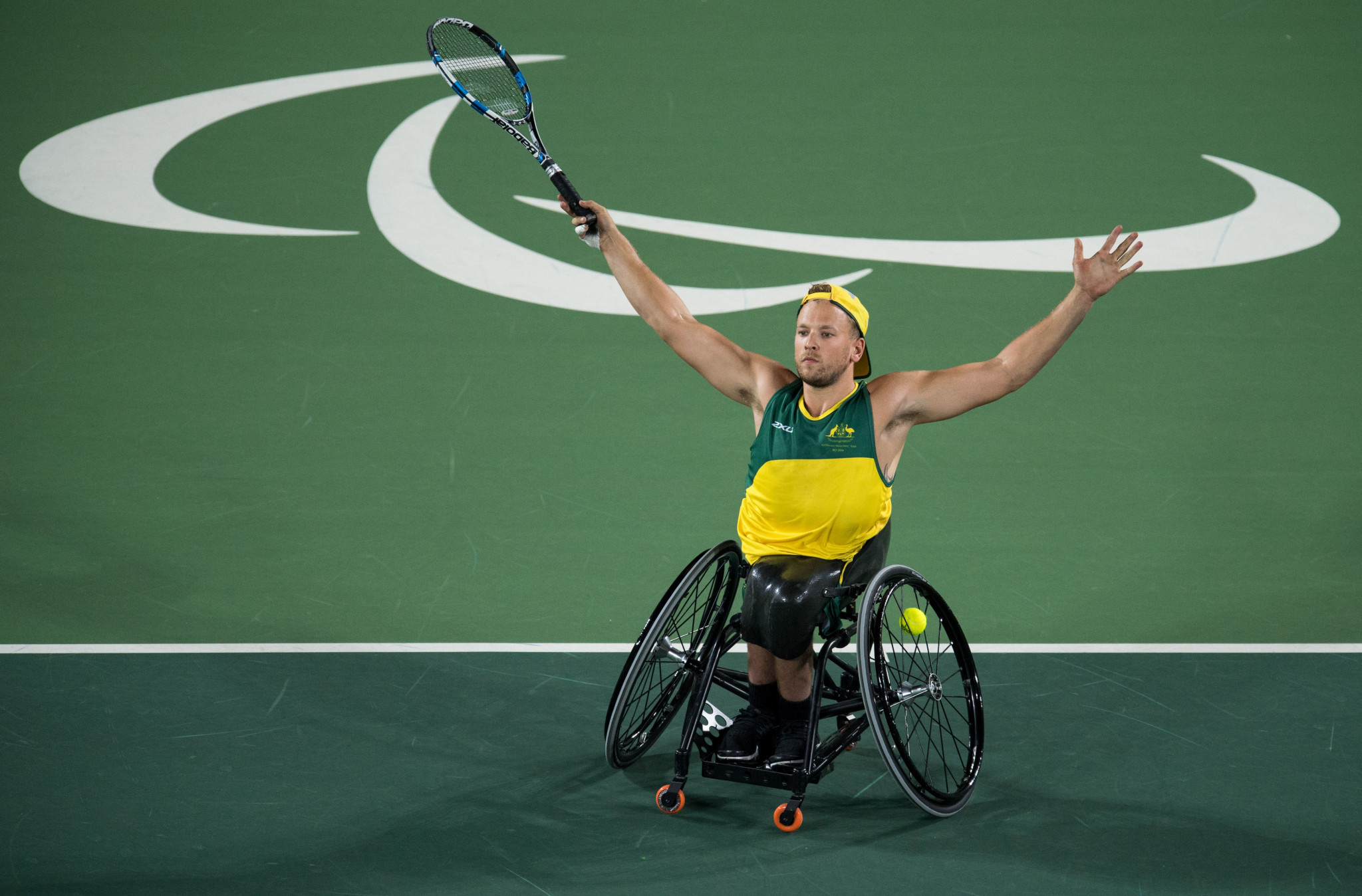 Two Paralympic champions feature in Australia's wheelchair tennis team