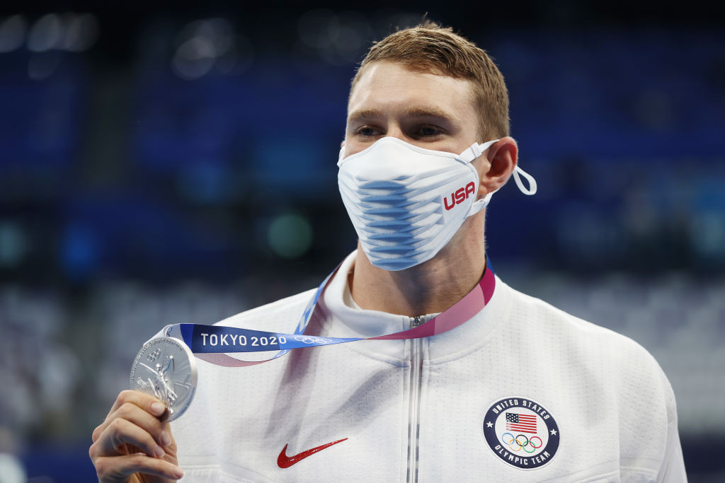 """Men's 200m backstroke Olympic silver medallist Ryan Murphy of the United States has questioned whether the race was """"clean"""" ©Getty Images"""