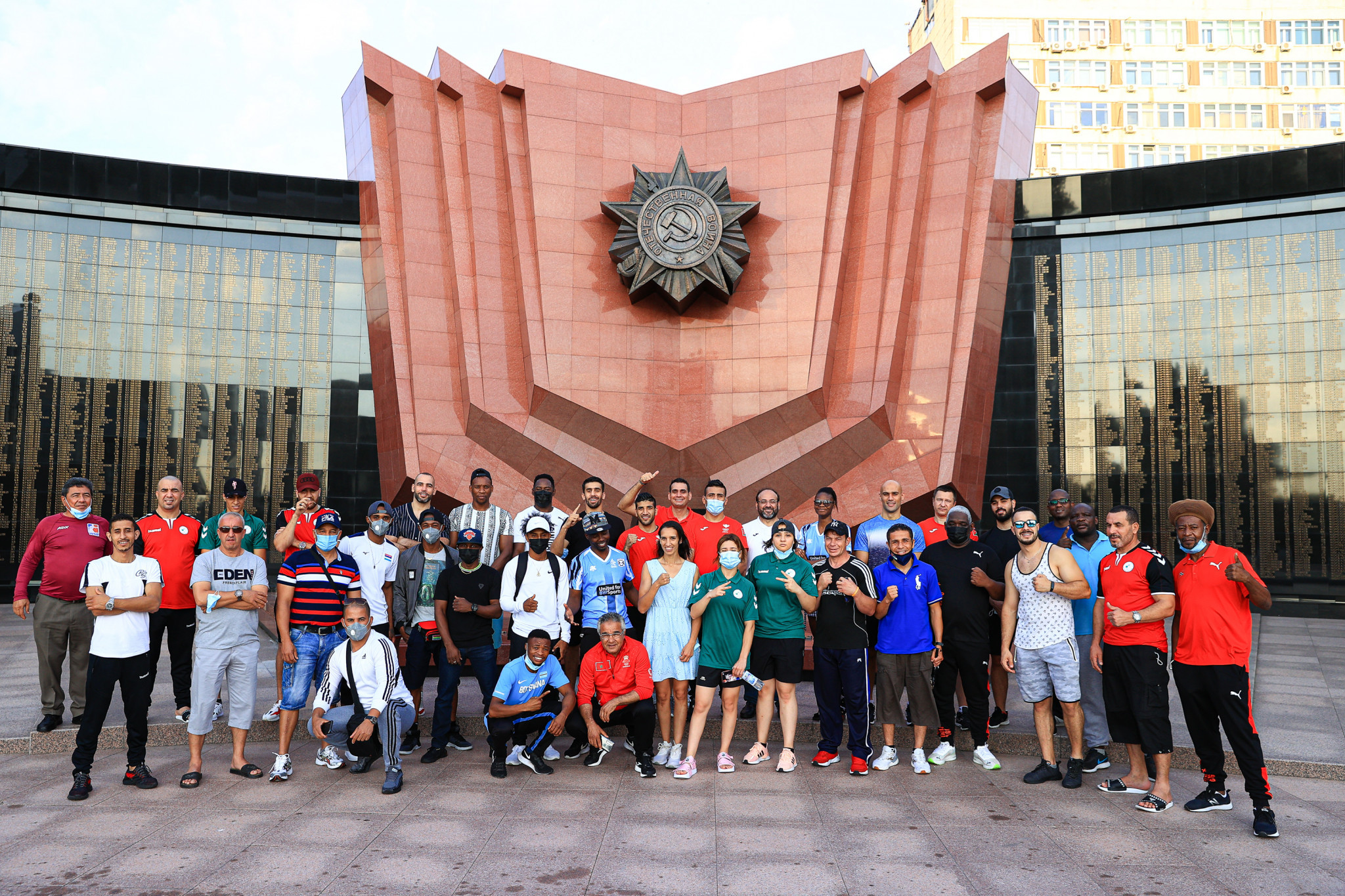Ten countries were represented at the AIBA training camp in Khabarovsk ©AIBA