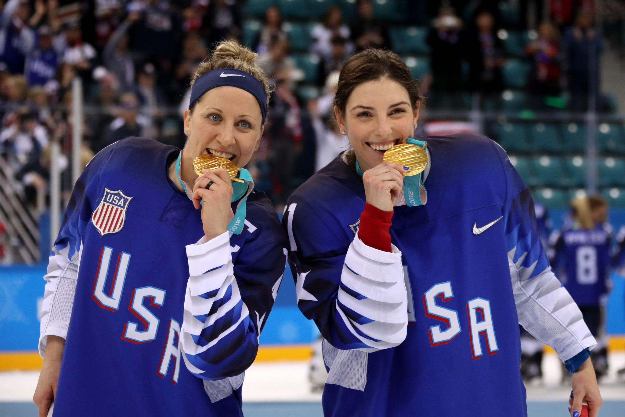 Joel Johnson will lead the women's ice hockey team, who won gold at Pyeongchang 2018 ©Getty Images