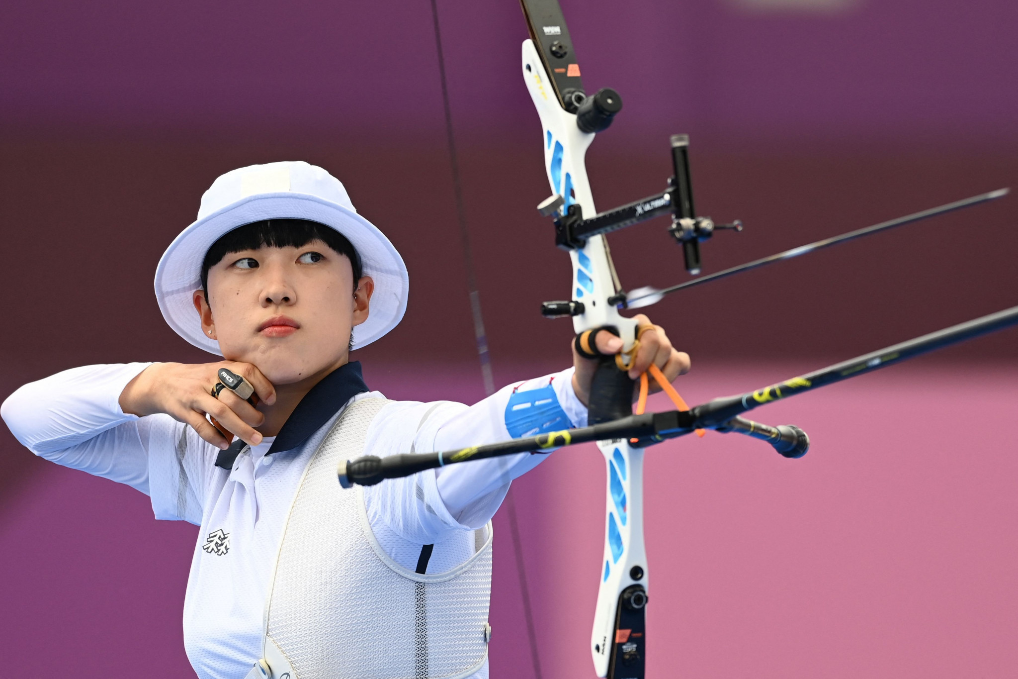 An San makes South Korea Olympic history with third archery gold