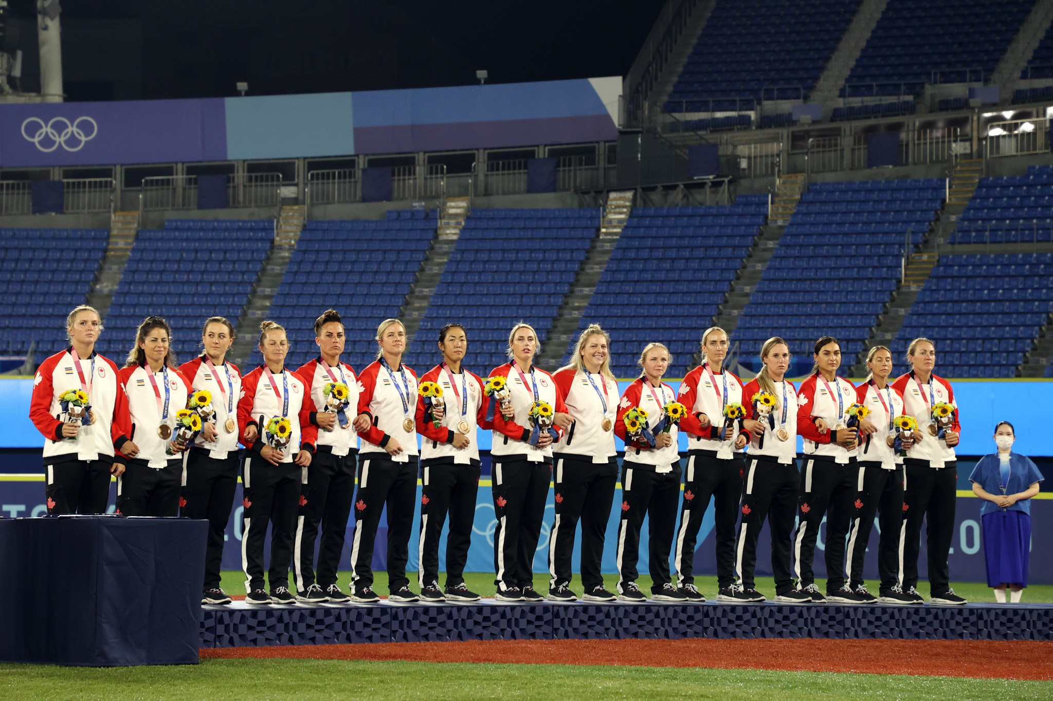 Canada won bronze in softball at Tokyo 2020 ©Getty Images