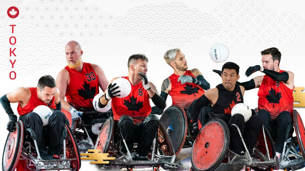 Canada select wheelchair rugby team for Tokyo 2020 Paralympics