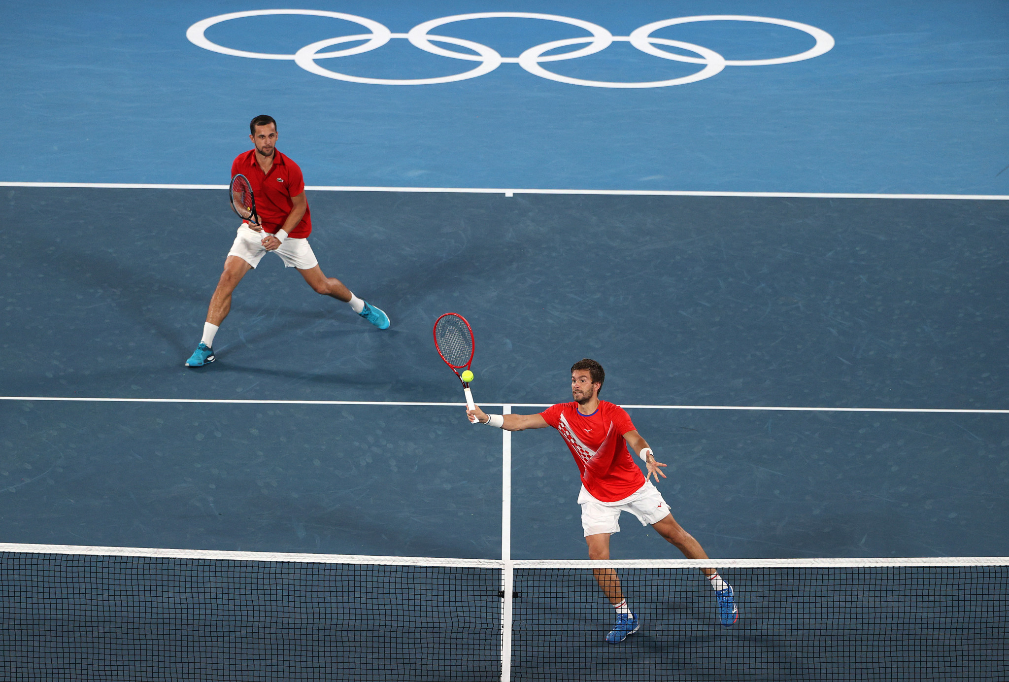 Mektic and Pavic win all-Croatian men's doubles final at Tokyo 2020