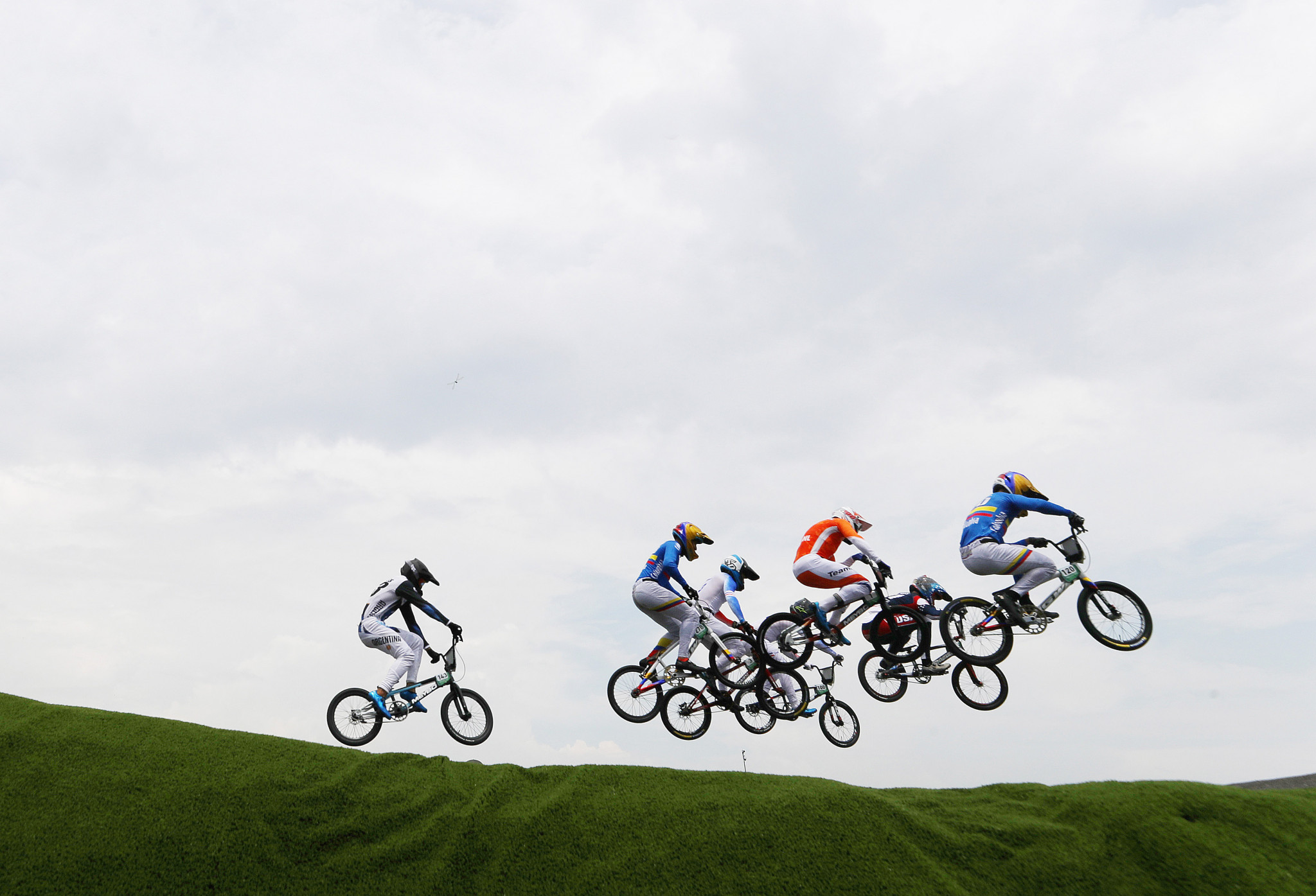The men's and women's BMX titles were decided on the seventh day of competition in Tokyo ©Getty Images