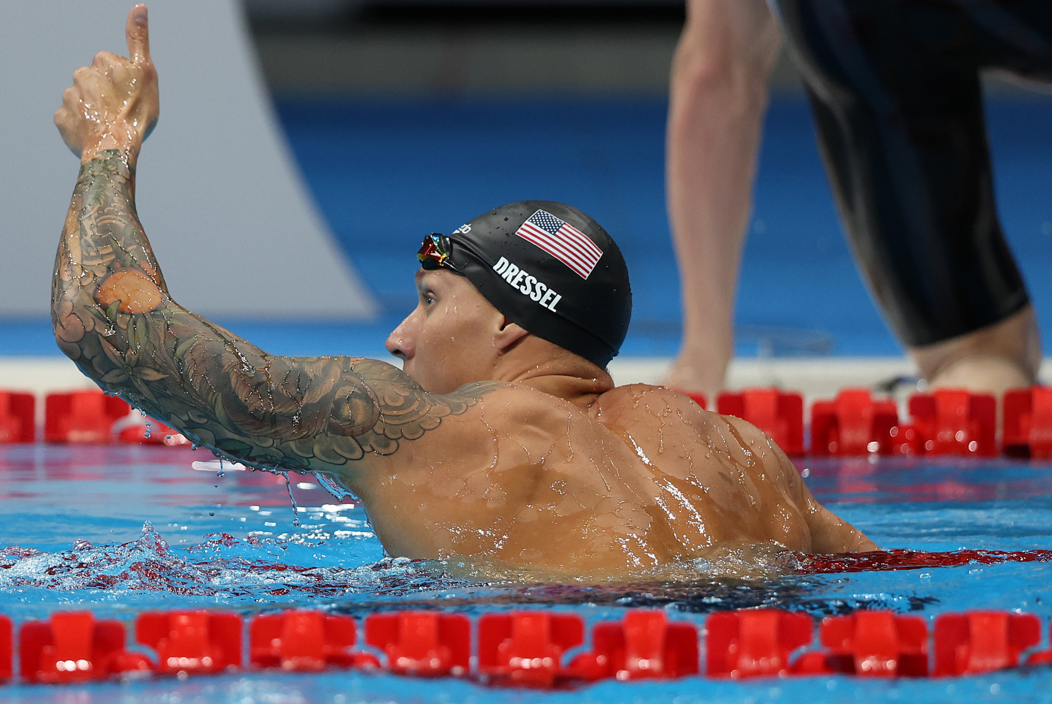Caeleb Dressel claimed gold in the men's 100m butterfly event ©Getty Images