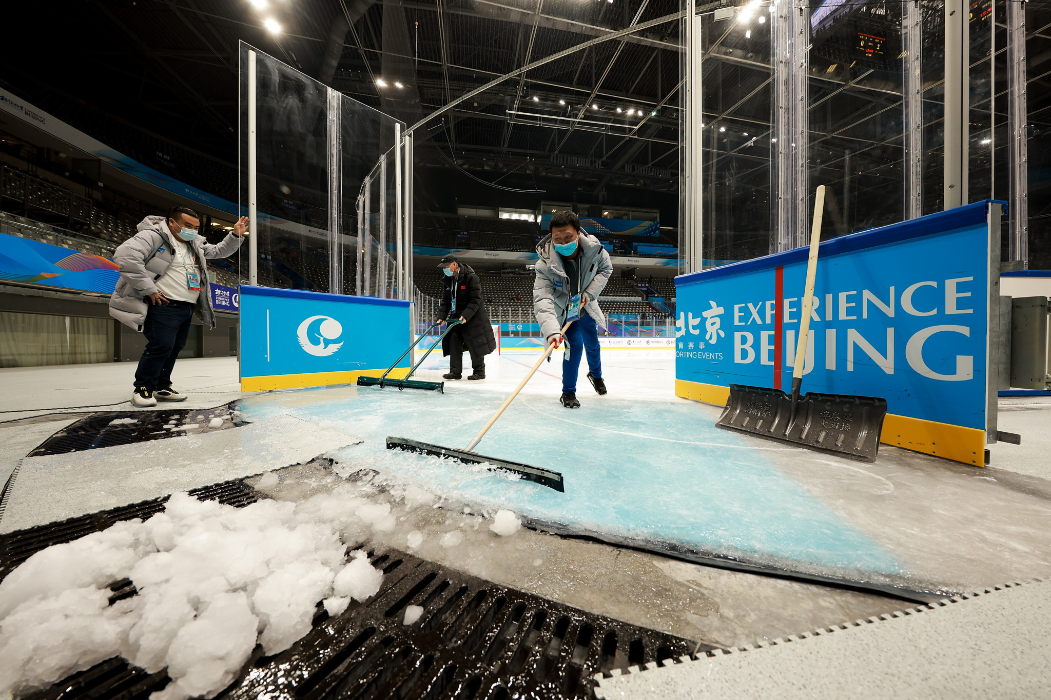 Beijing is set to host the Para Ice Hockey at the Beijing 2022 Paralympic Games next year ©Getty Images