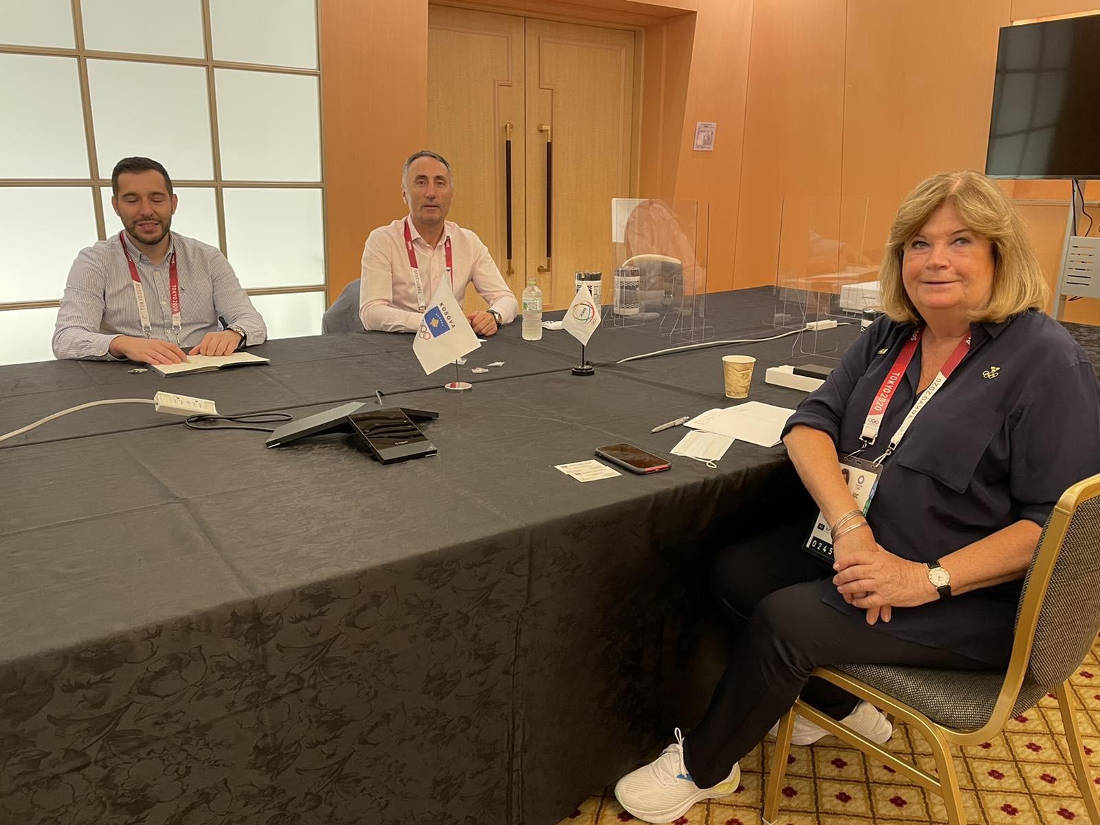 ANOC secretary general meets several NOCs at Tokyo 2020