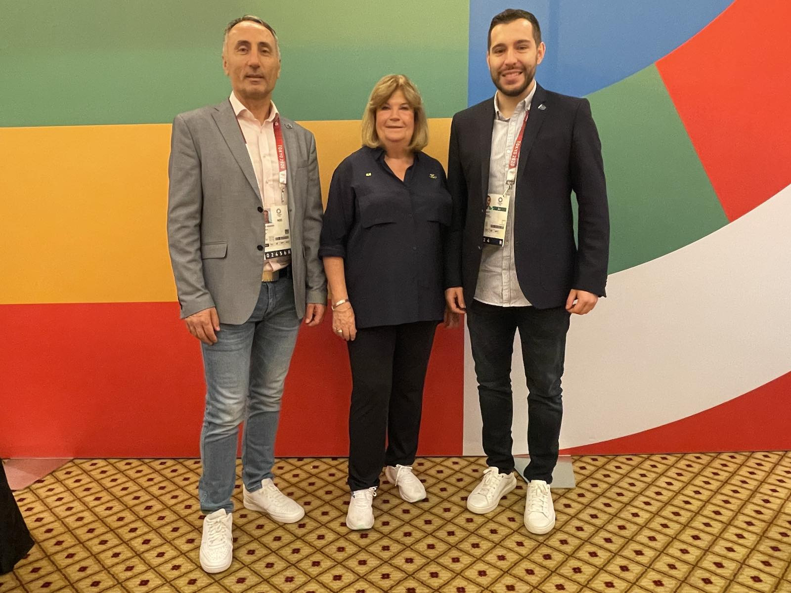 Kosovo has won two golds in judo at Tokyo 2020, and its NOC met with Lindberg last weekend ©Kosovo Olympic Committee