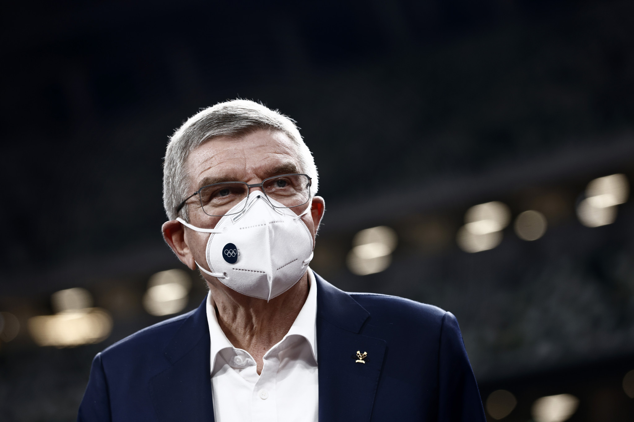 """IOC President Thomas Bach added the word """"together"""" to the Olympic motto before the Tokyo 2020 Olympic Games ©Getty Images"""