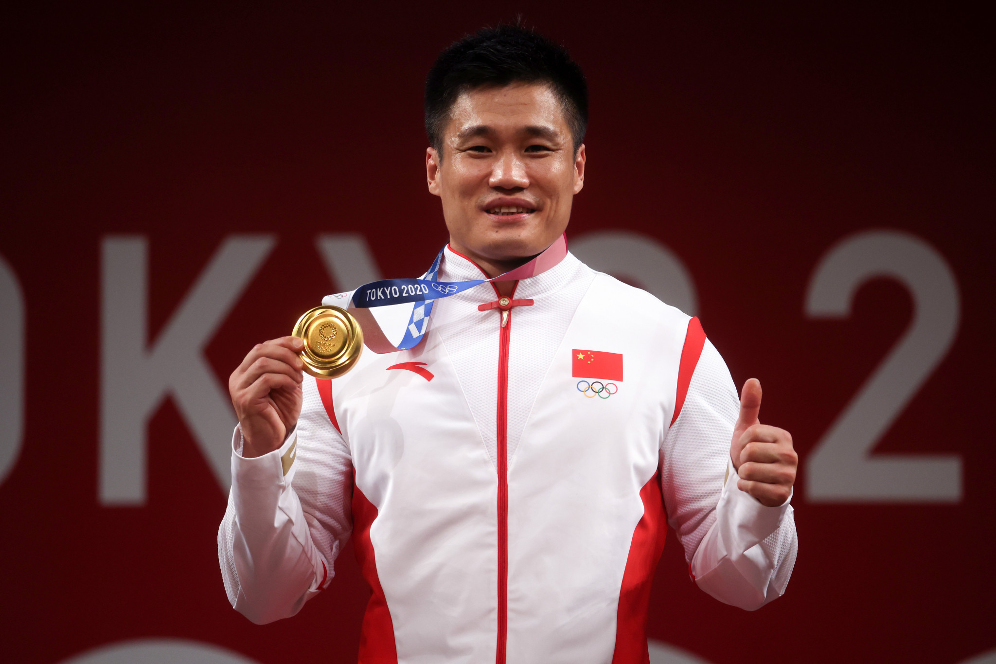 Weightlifter Lu Xiaojun joins all-time greats with another Tokyo 2020 gold for China - aged 37