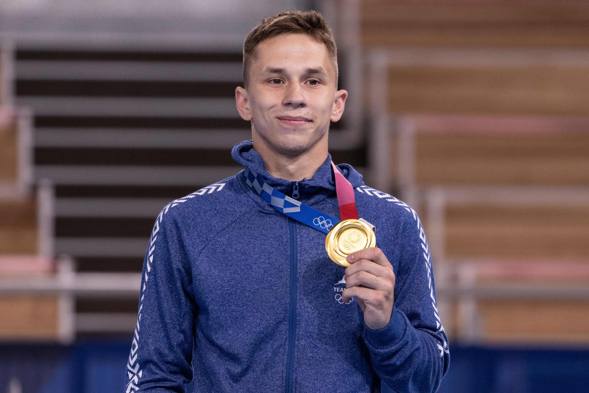 Litvinovich lands Belarus' first medal at Tokyo 2020 with trampoline gold