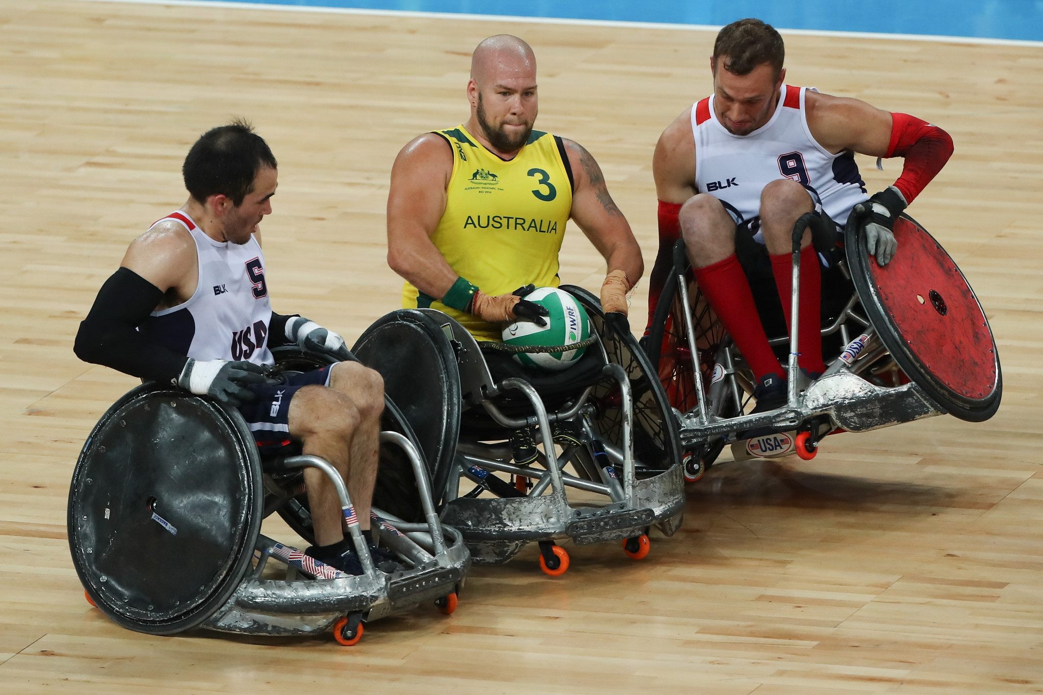 Australia names wheelchair rugby team of 12 for Tokyo 2020