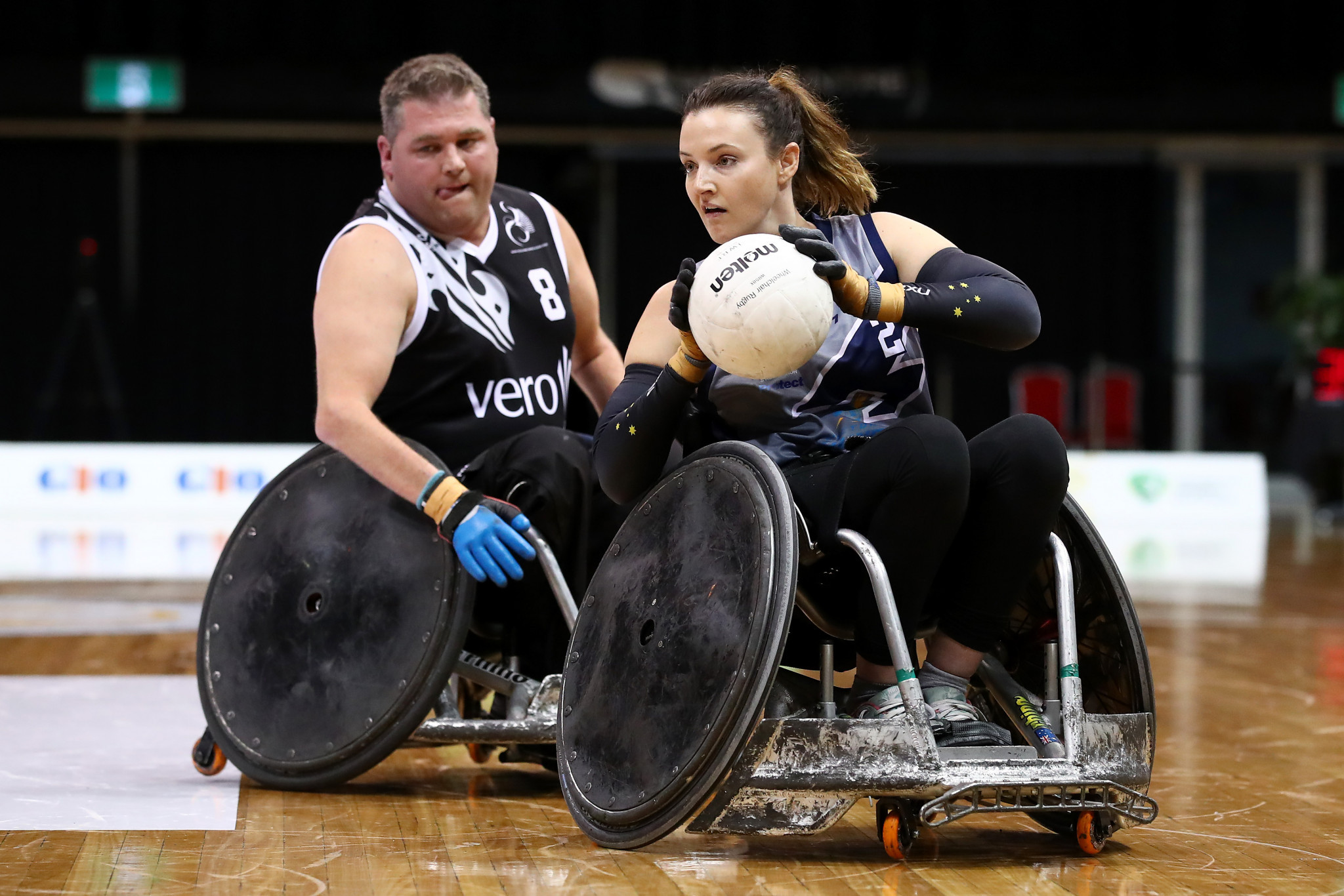 Shae Graham will become the first woman to represent Australia in wheelchair rugby at the Paralympics ©Getty Images