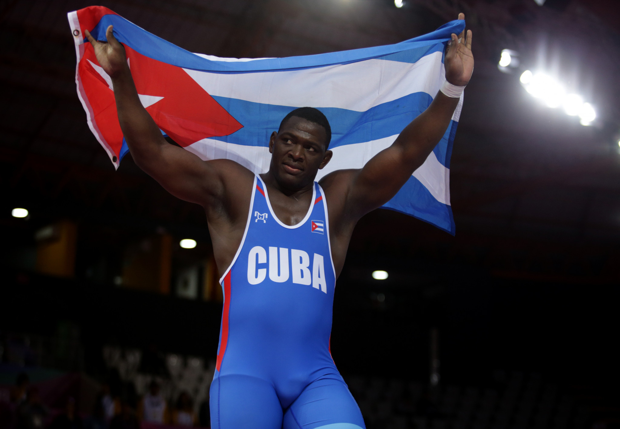 Cuba's López chases historic fourth gold as wrestling poised to begin at Tokyo 2020