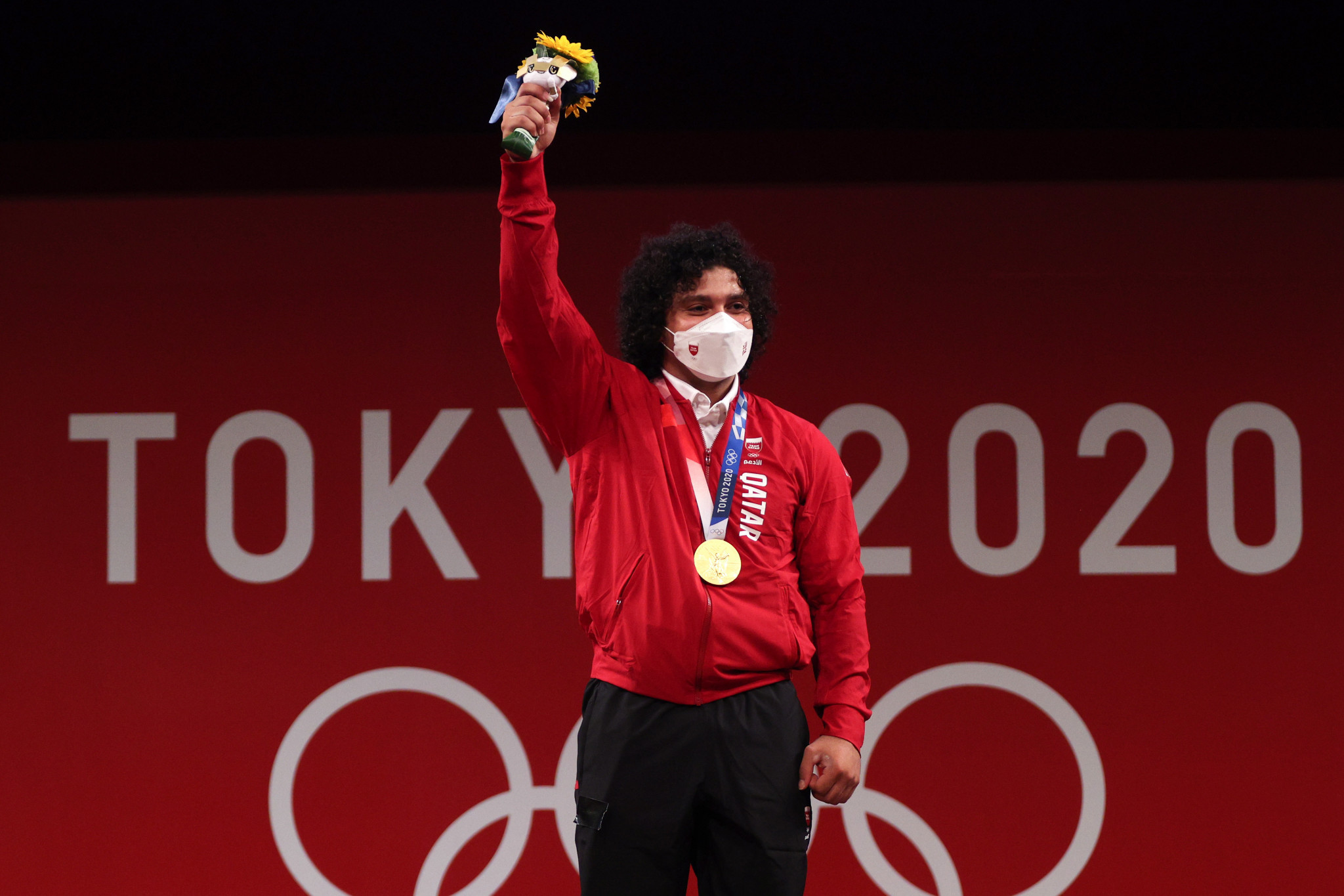 Weightlifter Meso wins Qatar's first ever Olympic gold medal