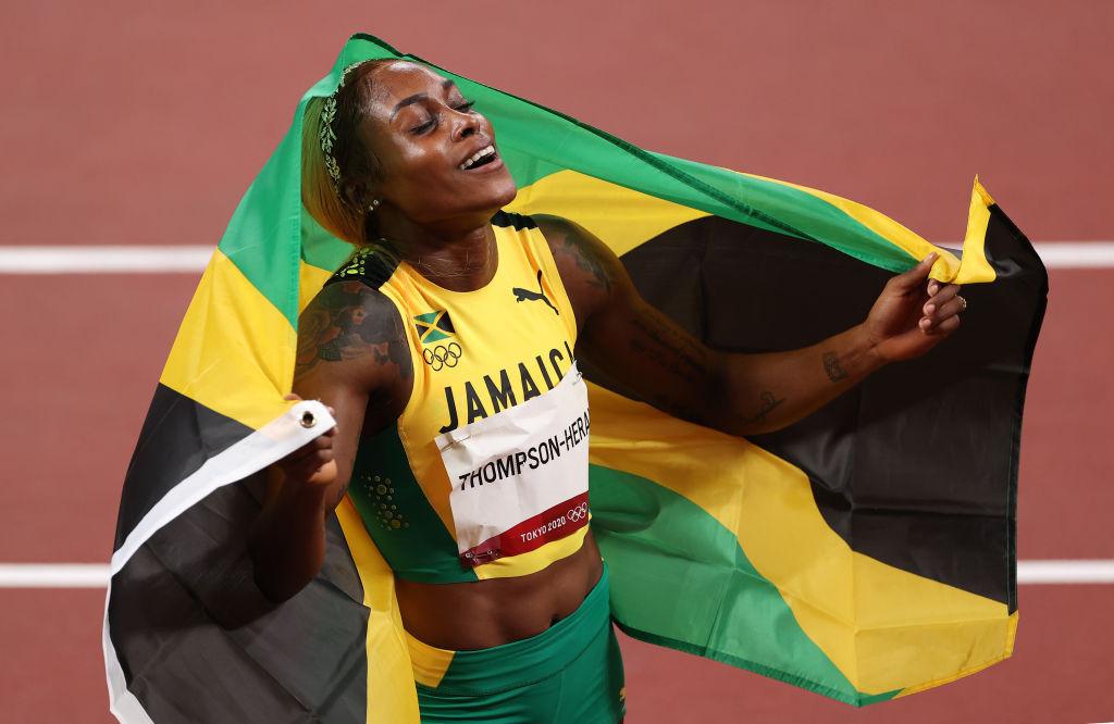 Rio 2016 champion Thompson-Herah leads Jamaican sweep in women's 100m final