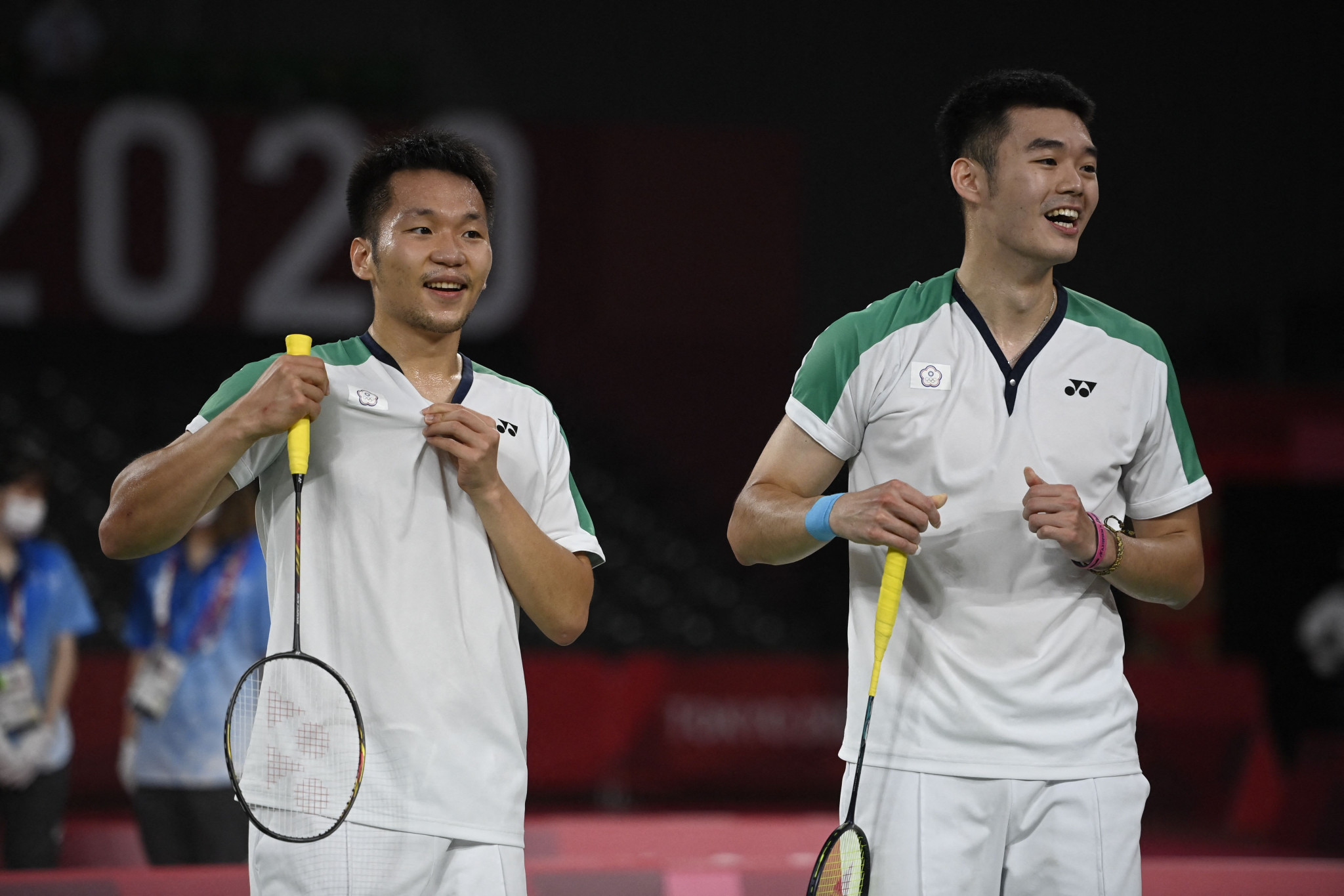 Lee and Wang earn first badminton gold for Chinese Taipei with doubles title