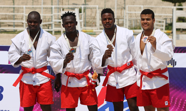 Morocco and Cameroon win all the golds at African Beach Sambo Championships