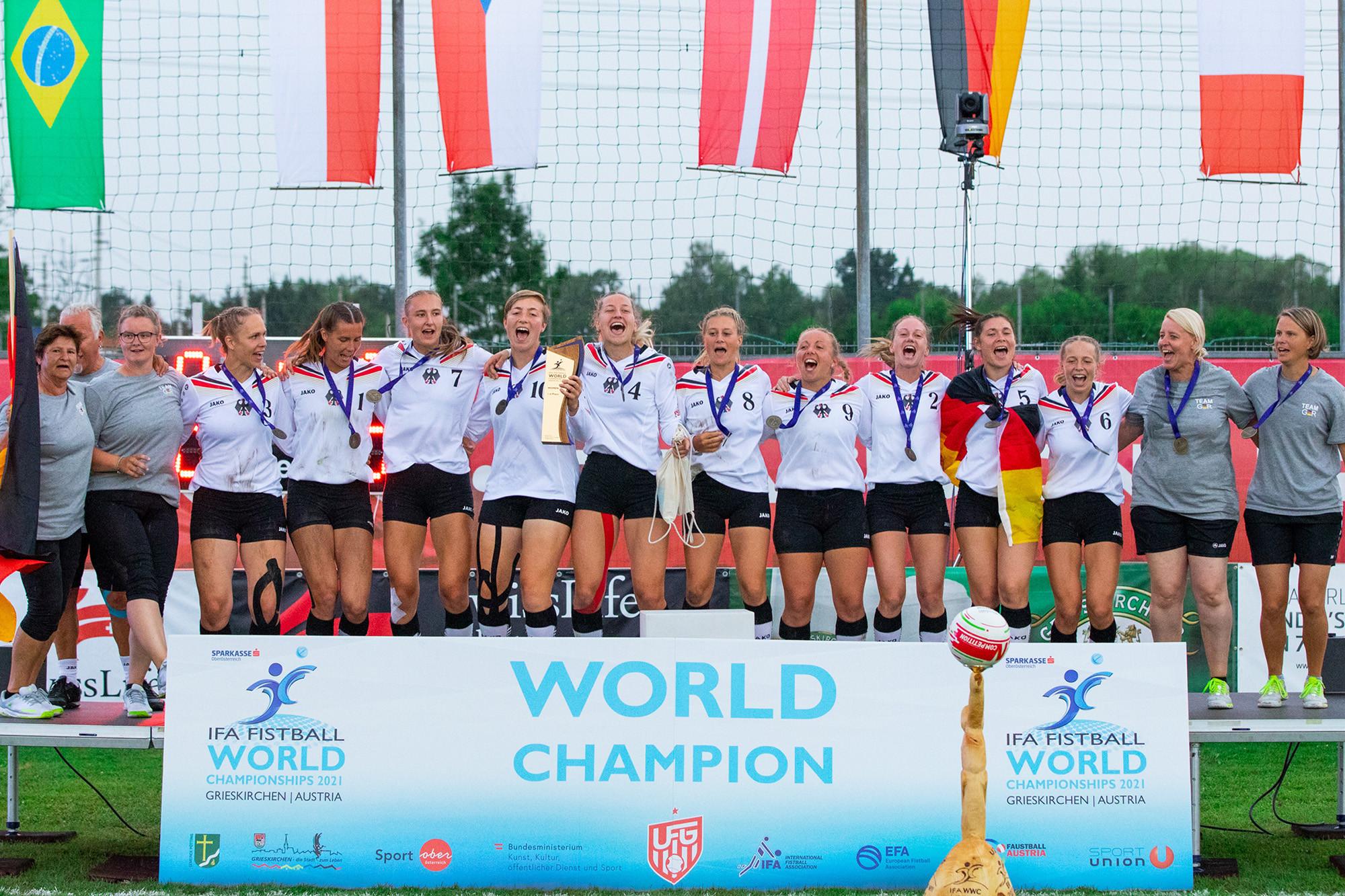 Germany win seventh Women's Fistball World Championship