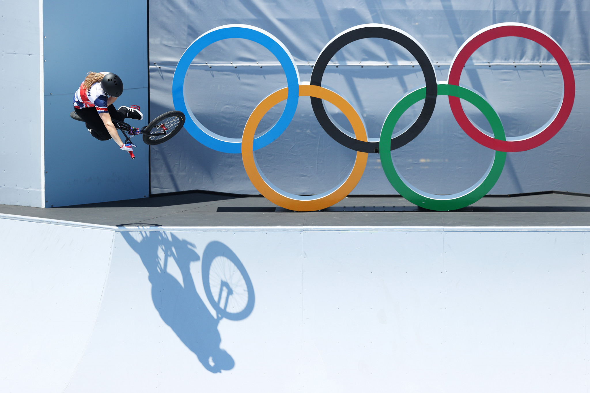 Worthington and Martin become first BMX freestyle Park Olympic champions