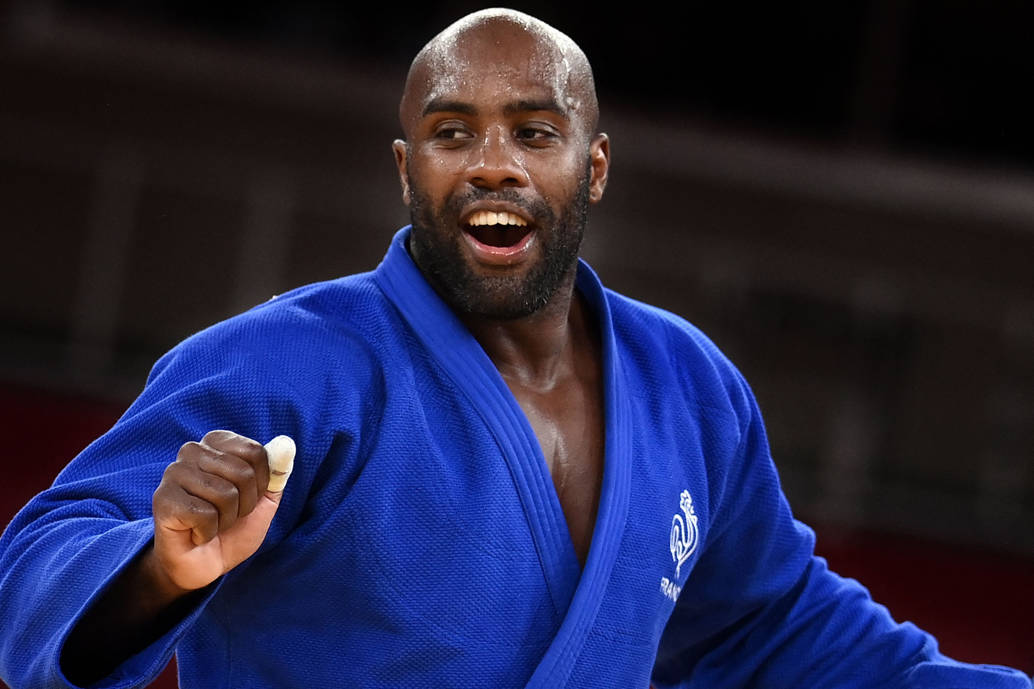 Tony Estanguet singled out judo legend Teddy Riner for praise ©Getty Images