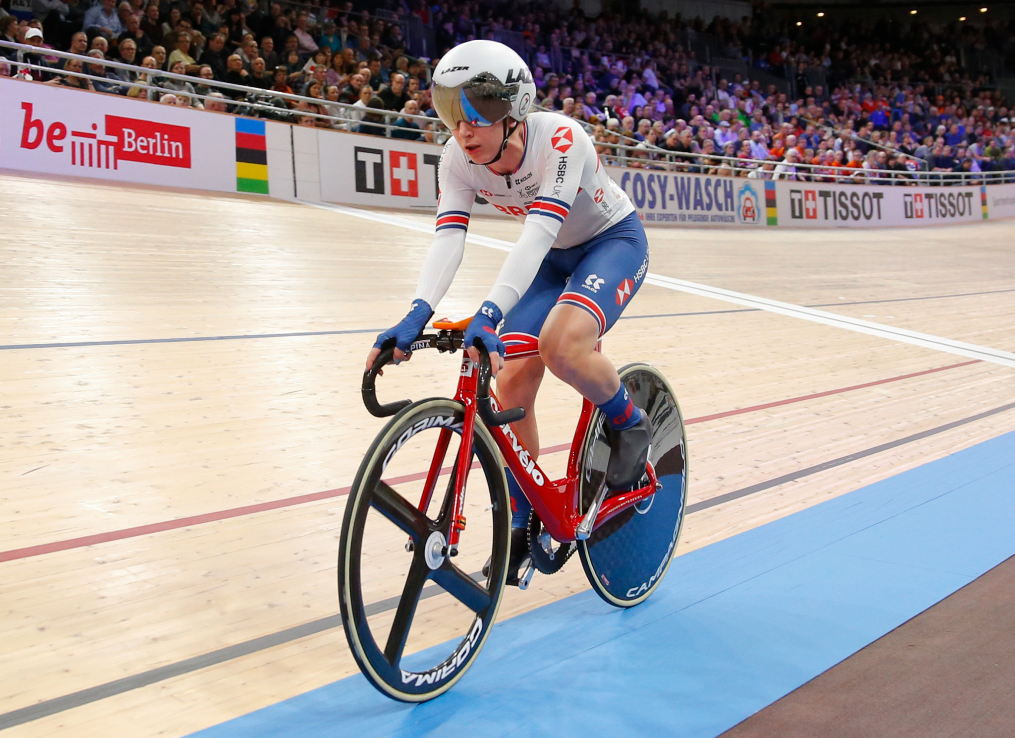 Laura Kenny will hope to add to her four Olympic gold medals at Tokyo 2020 ©Getty Images