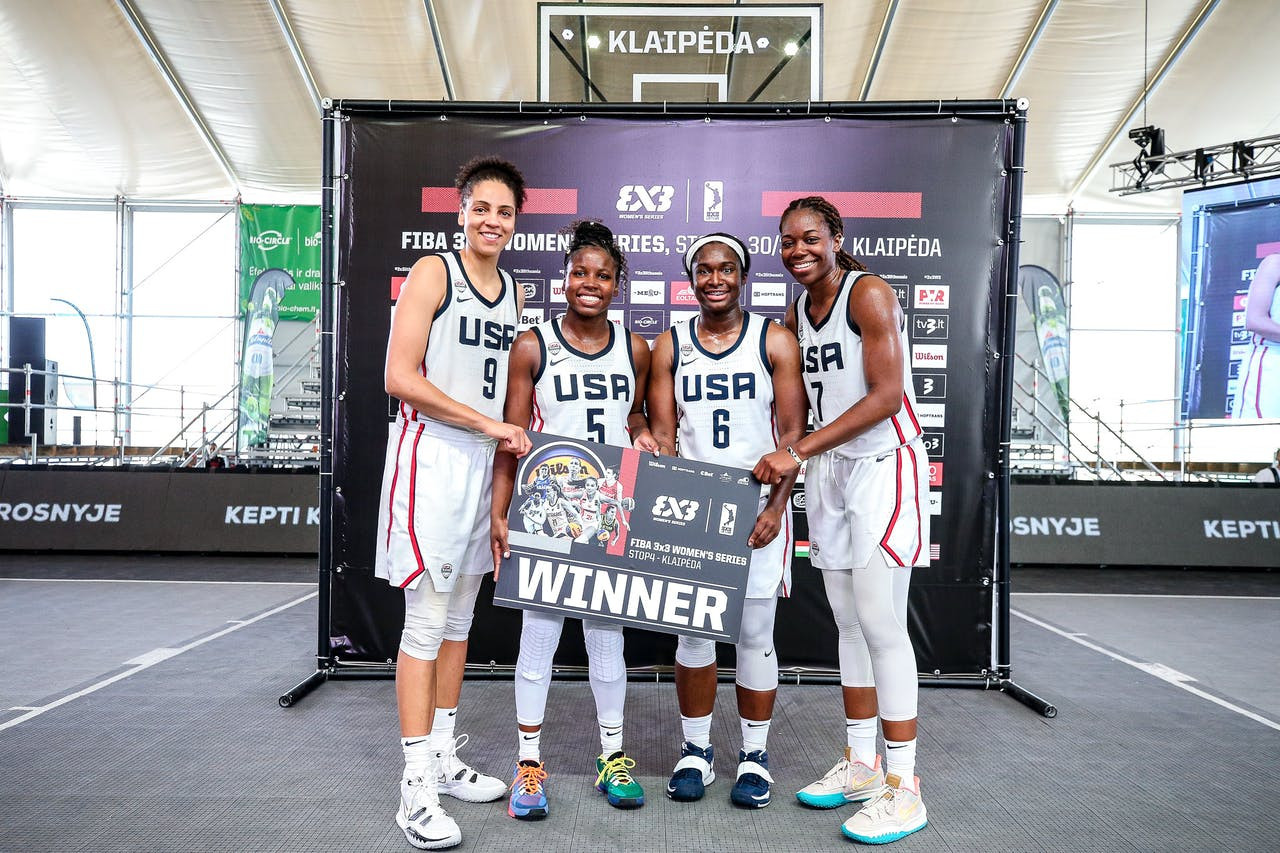 United States adds to Olympic success in 3x3 basketball with Women's Series win