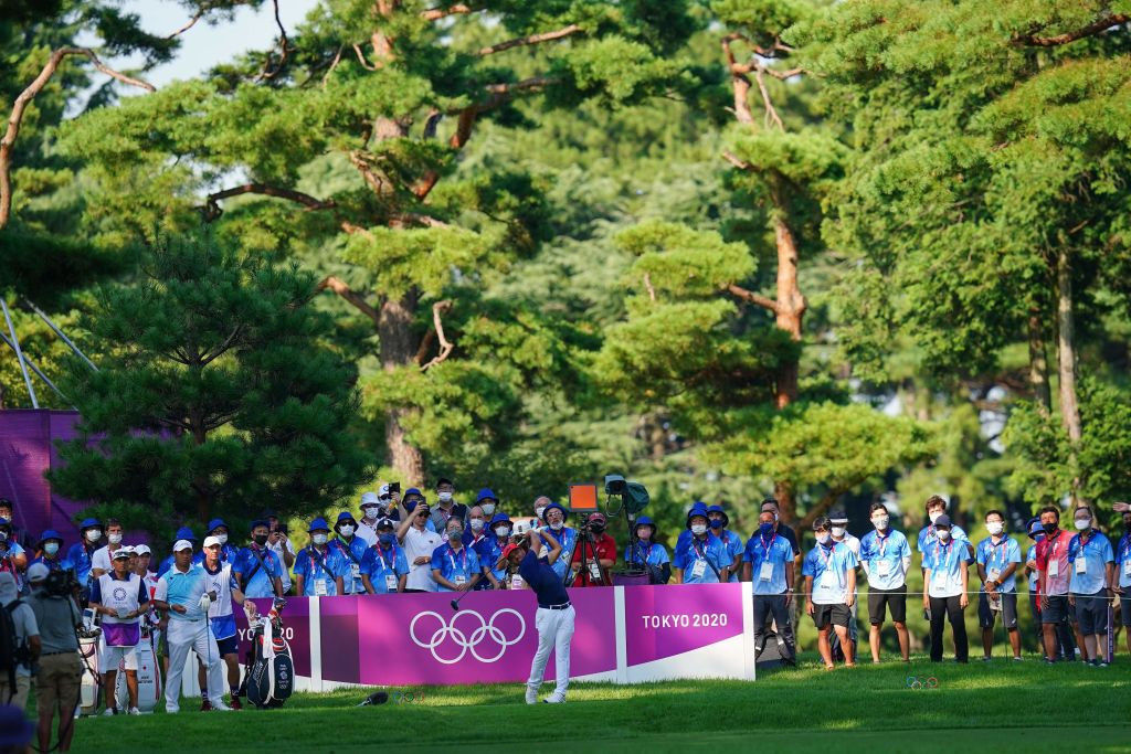 Schauffele holds nerve to secure Olympic golf title at Tokyo 2020