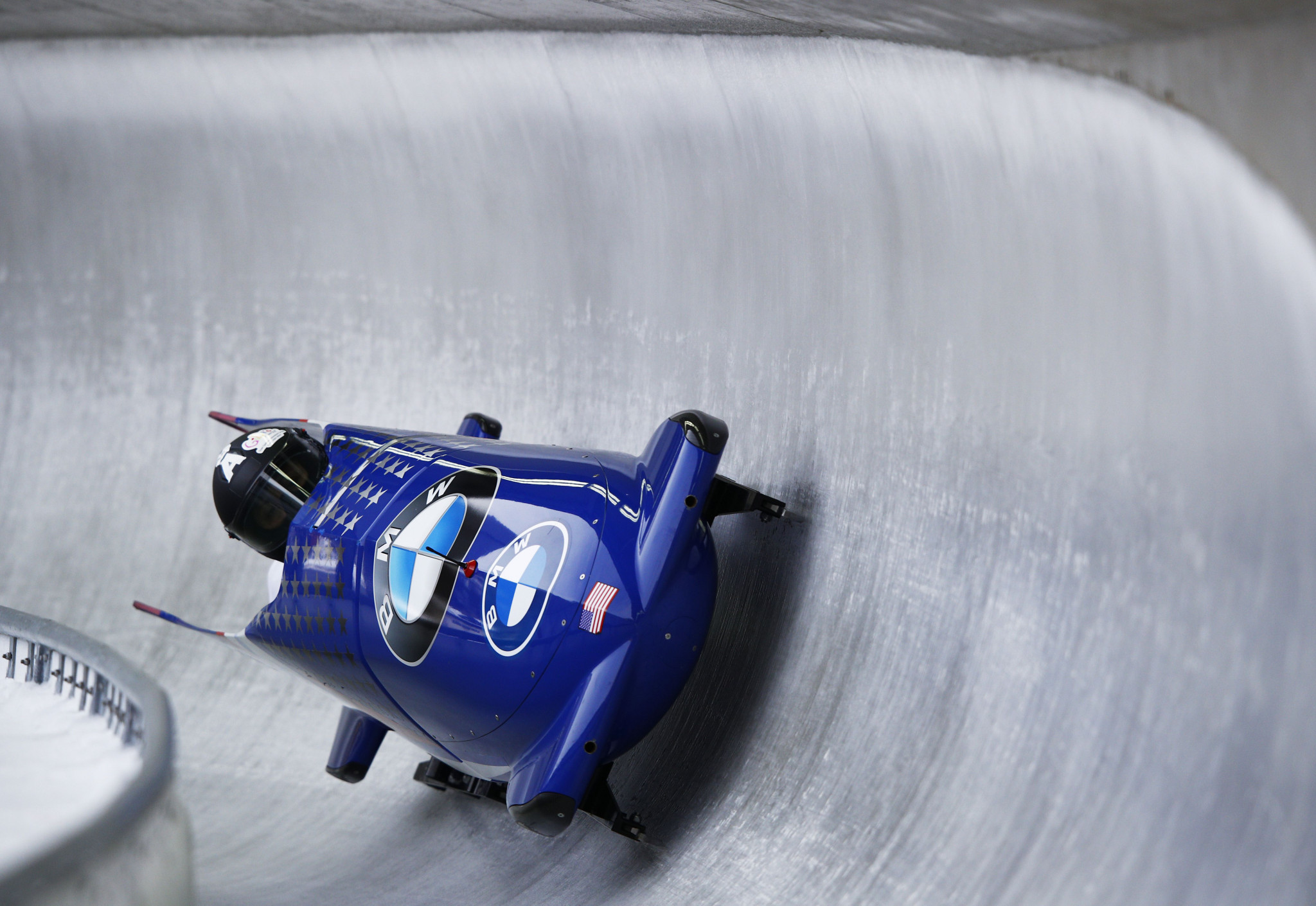 Sylvia Hoffman was crowned the 2021 USA Women's Bobsled Push Champion ©Getty Images