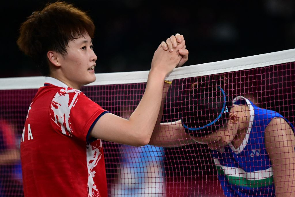 Chen continues Chinese Olympic badminton singles success with women's title at Tokyo 2020