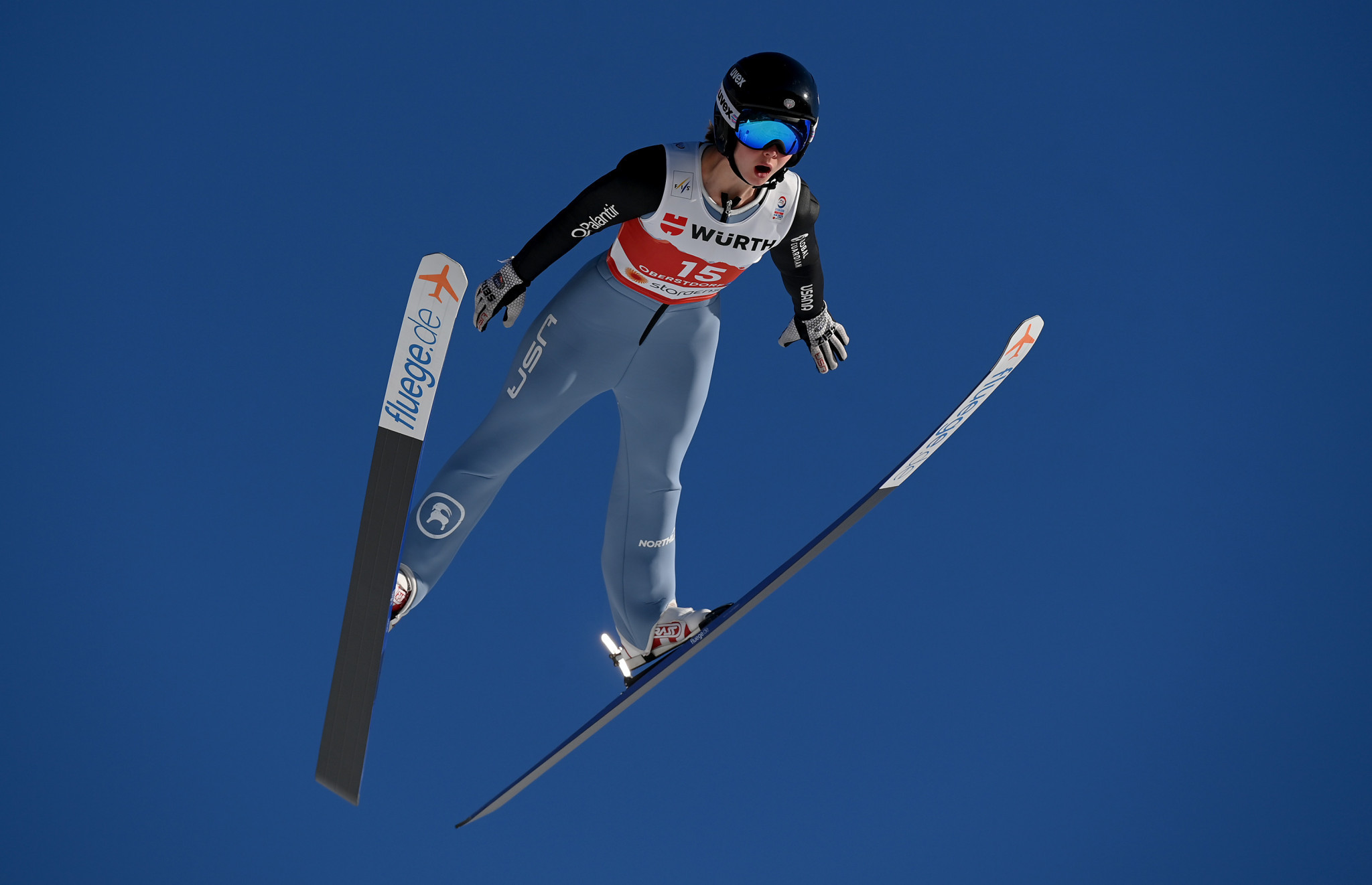 Triple triumph for Belshaw at US Nordic Combined Championships