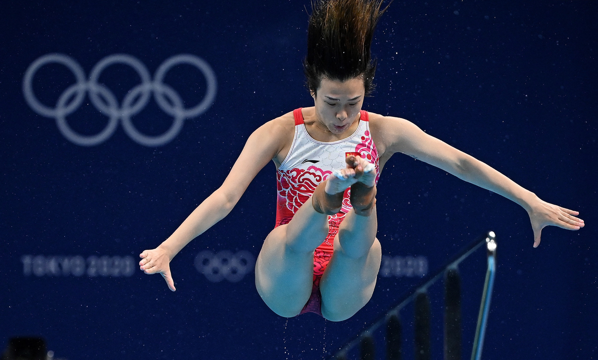 Shi Tingmao is now a four-time Olympic gold medallist ©Getty Images