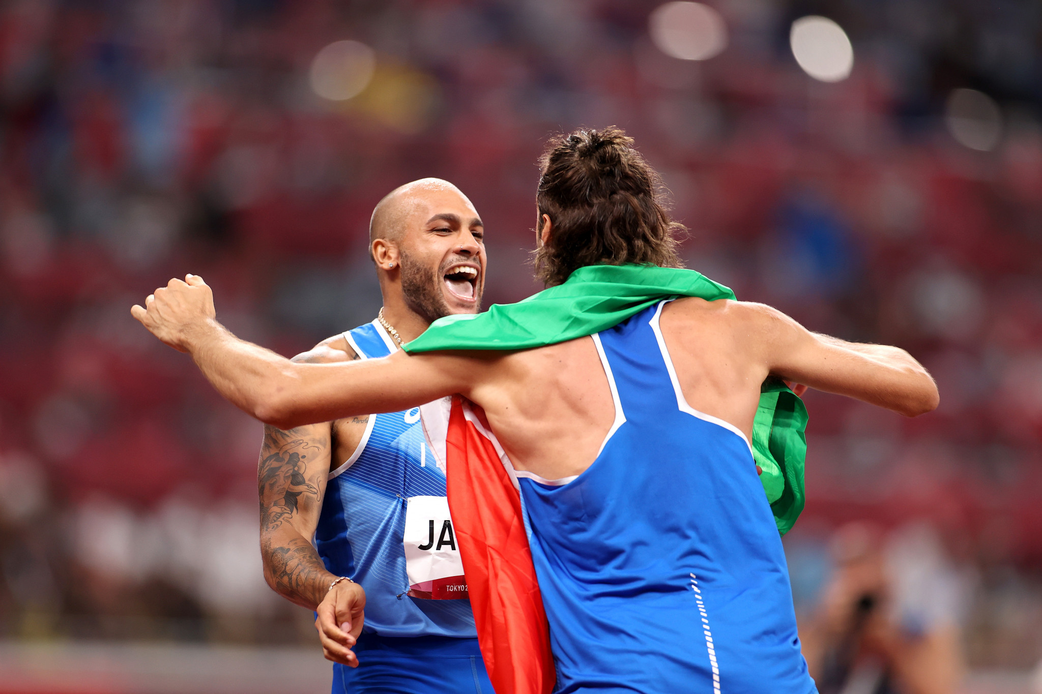 Italy enjoyed a sensational day at the Olympic Stadium in Tokyo, winning two of the most coveted medals of the Games ©Getty Images
