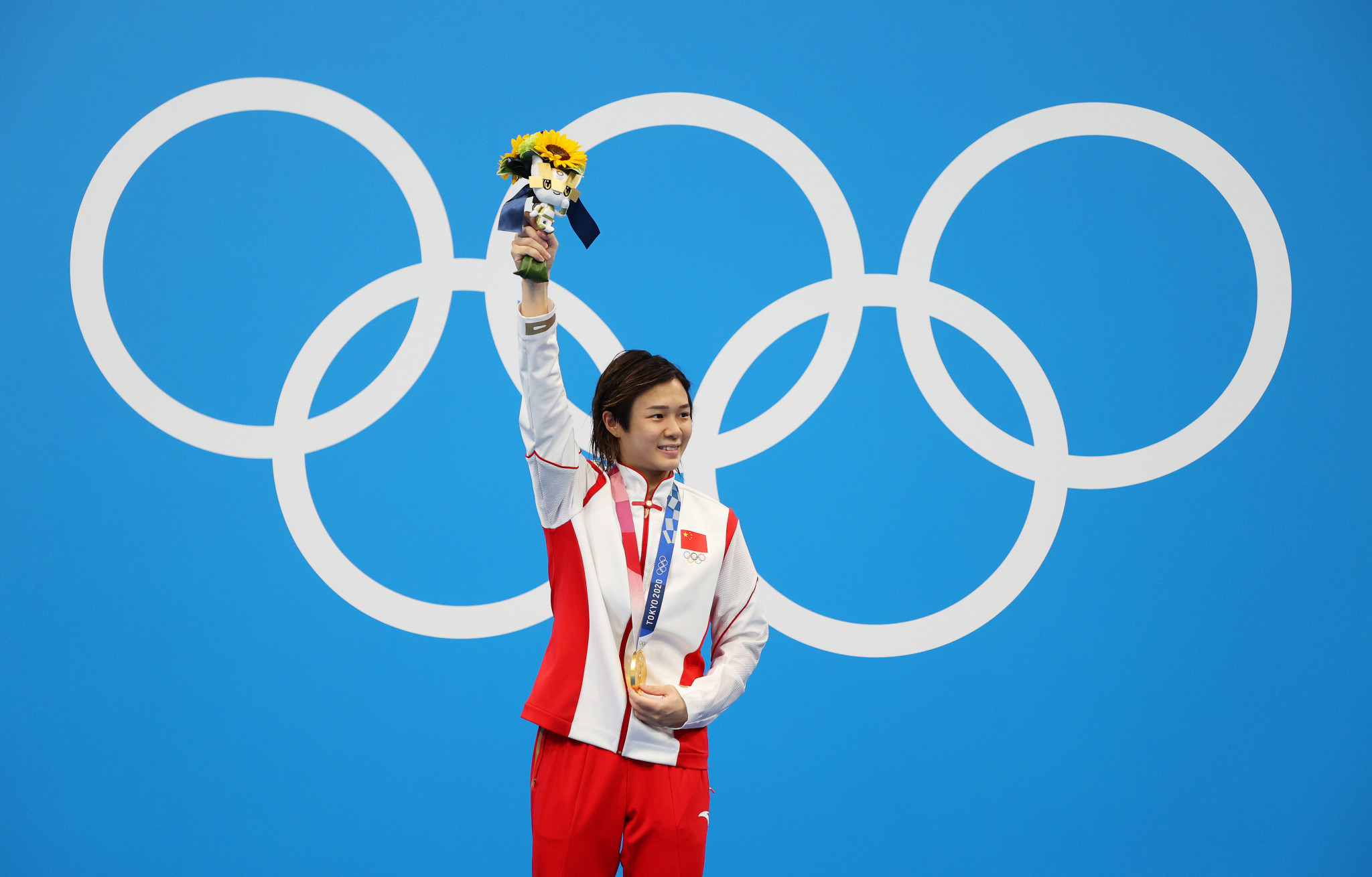 China's Shi Tingmao won the women's 3m platform gold medal - receiving the top score in all six rounds ©Getty Images