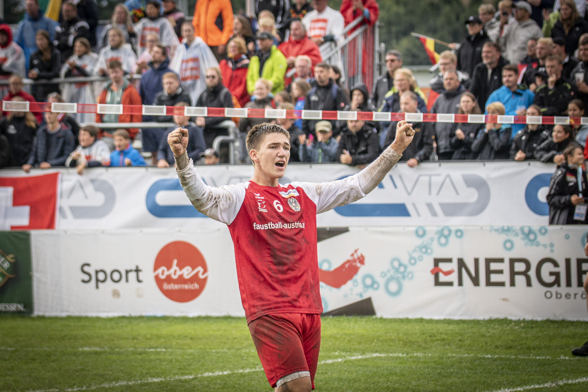 Austria won as many points as Germany in the men's under-18 World Championship final, but lost ©IFA