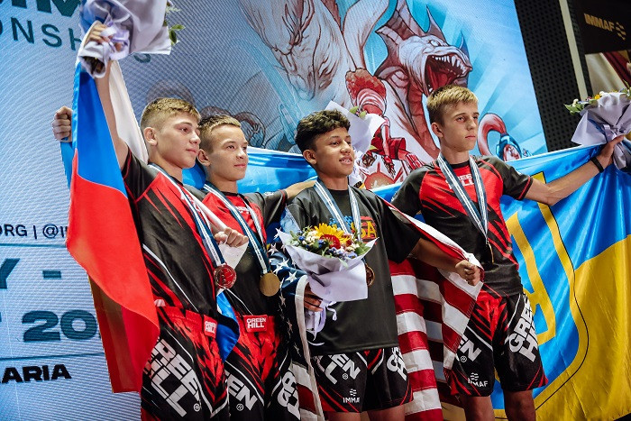Russian win seven golds on final day of IMMAF Youth MMA World Championships