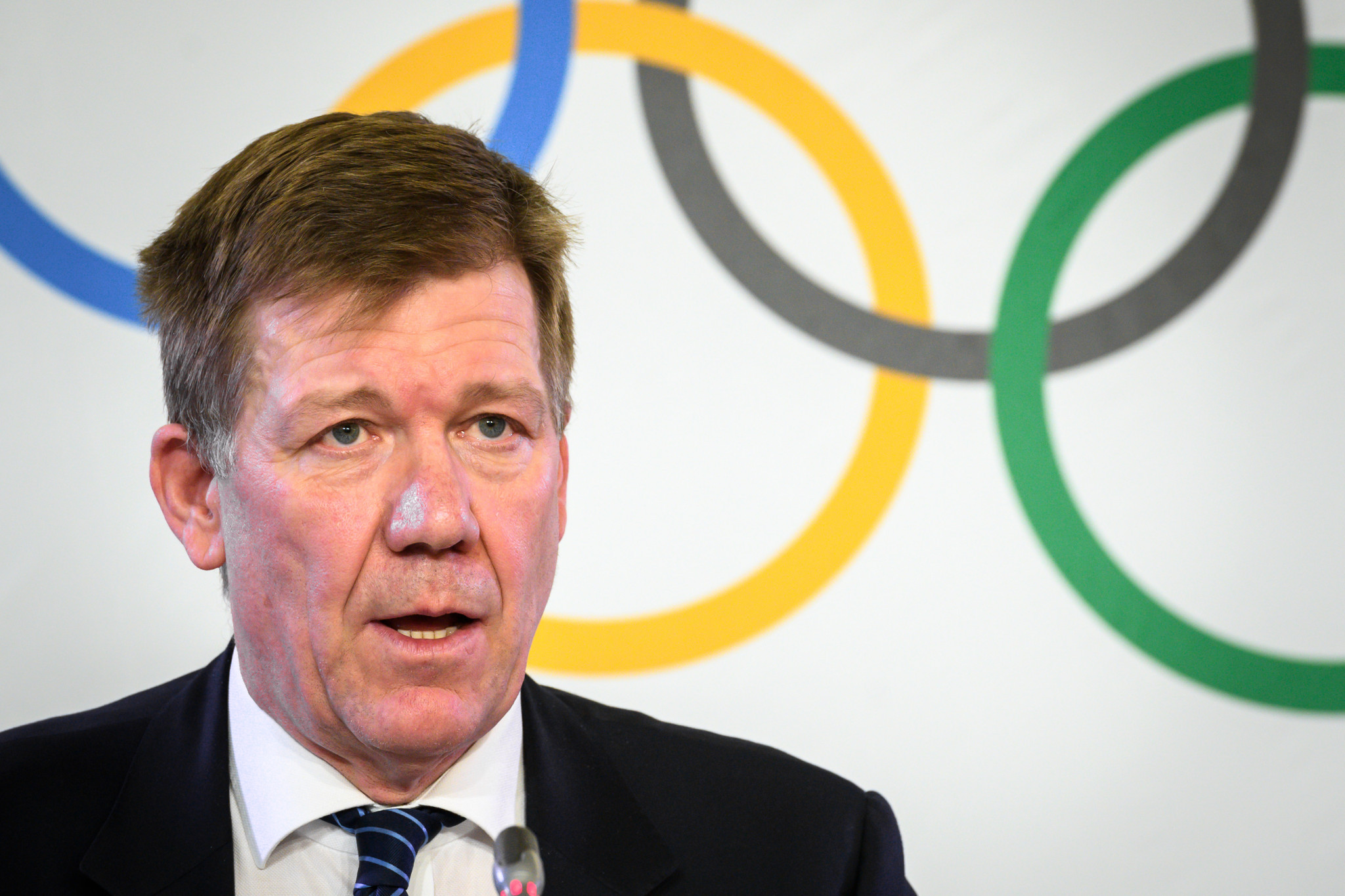 IOC science and medical director Richard Budgett has suggested policies could differ at international and national levels ©Getty Images