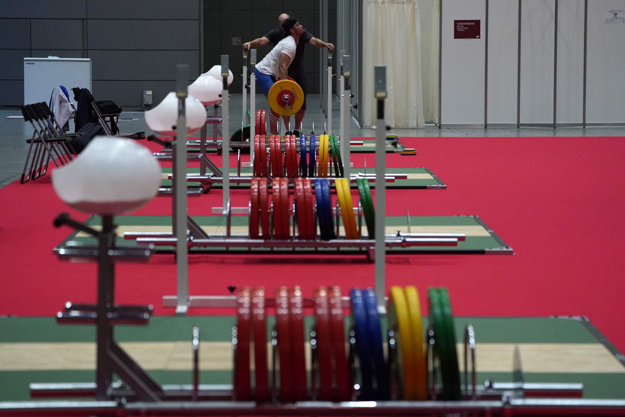 Laurel Hubbard's participation has led to a surge in interest in the women's over 87kg weightlifting event ©Getty Images