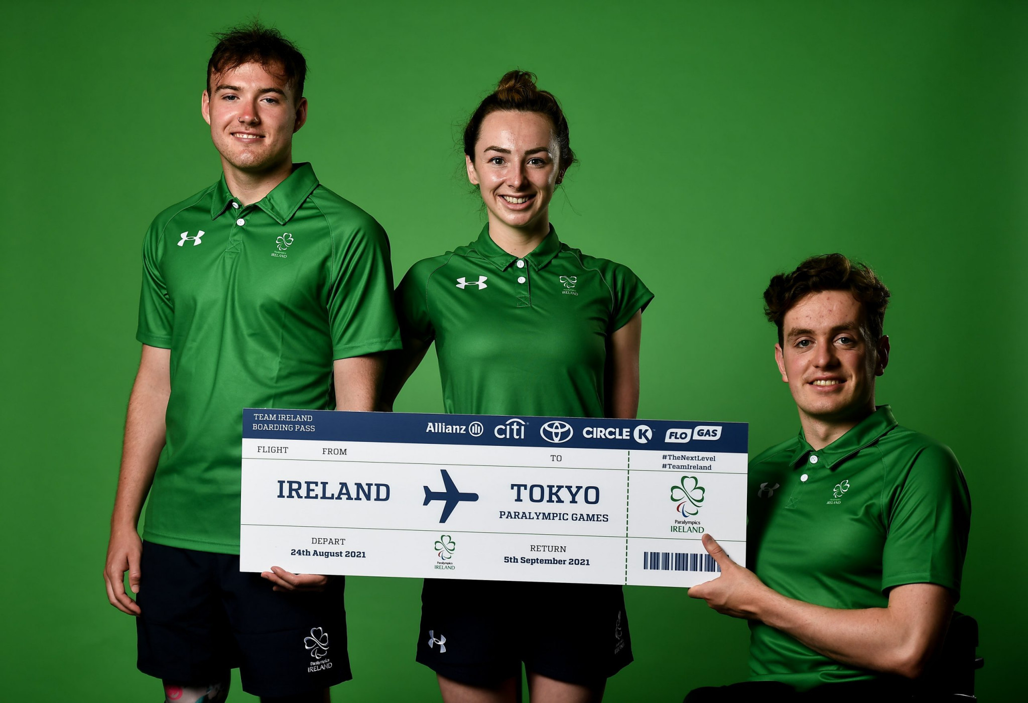 Twenty-one athletes named as part of Team Ireland's Paralympic delegation