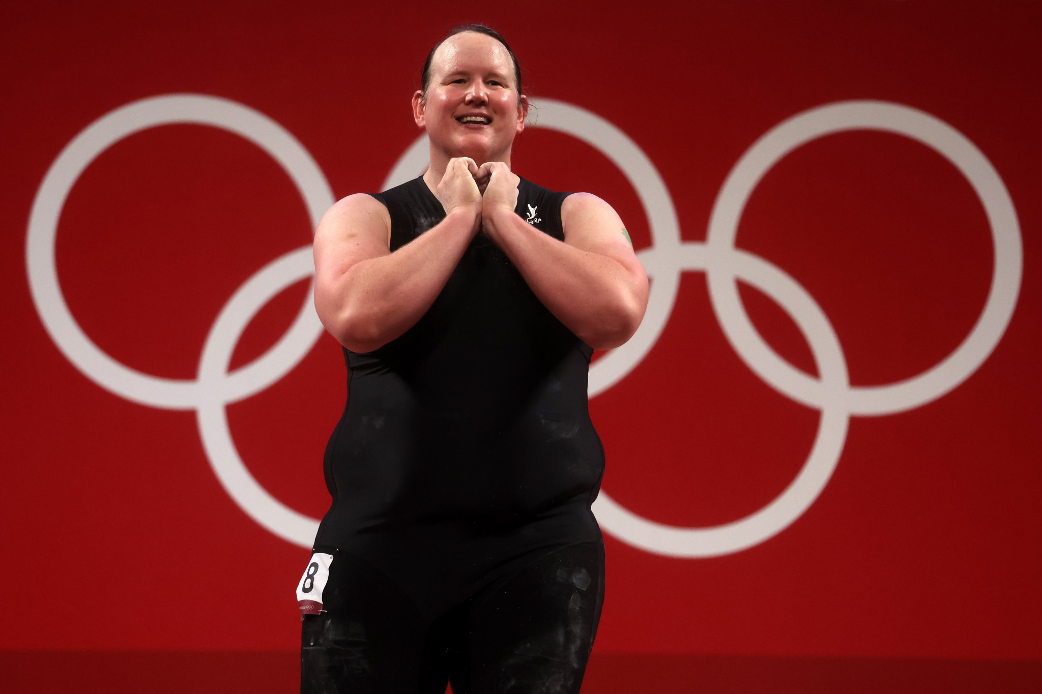 Laurel Hubbard thanked the IOC, IWF and the NZOC for their support ©Getty Images