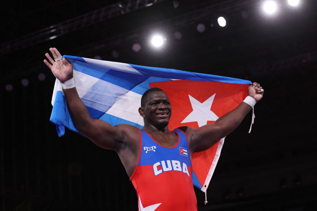 López etches name into history books by clinching fourth Olympic wrestling title at Tokyo 2020