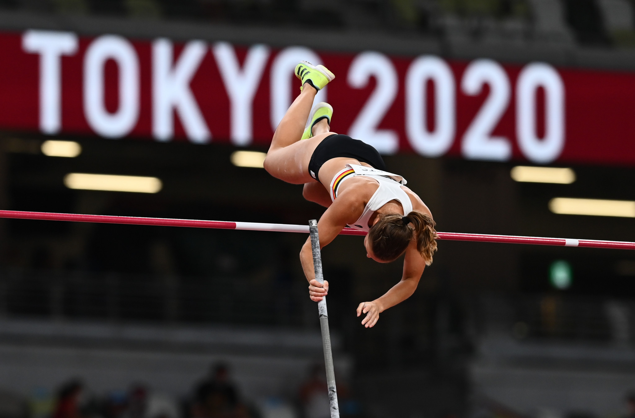 The technique on show at Tokyo 2020 is very different to that of Ulverston's famed voters ©Getty Images