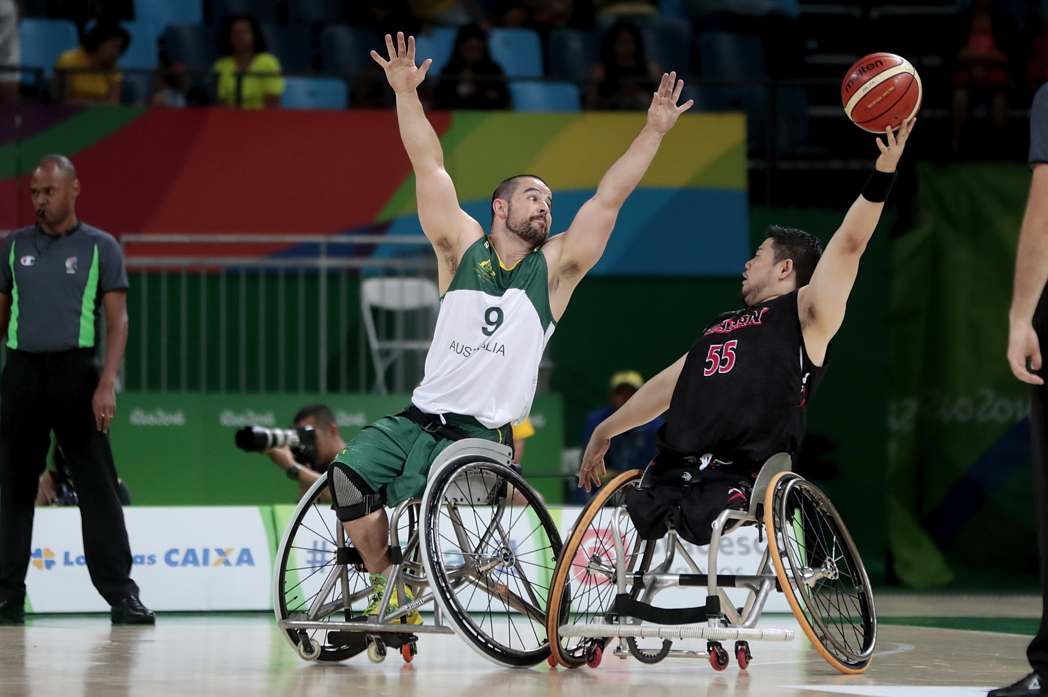 Wheelchair basketball has featured in every Paralympic Games, with the first in 1960 ©Getty Images