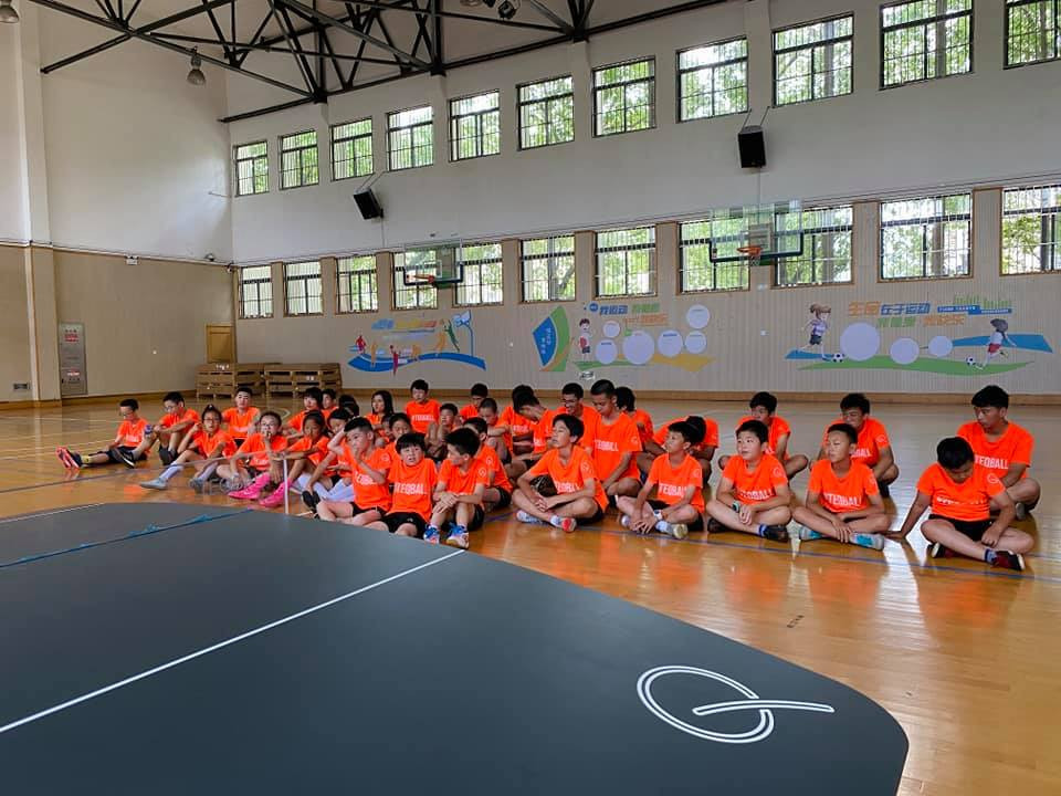 Teqball summer camp hosted in Shanghai prior to the sport's debut at Asian Beach Games